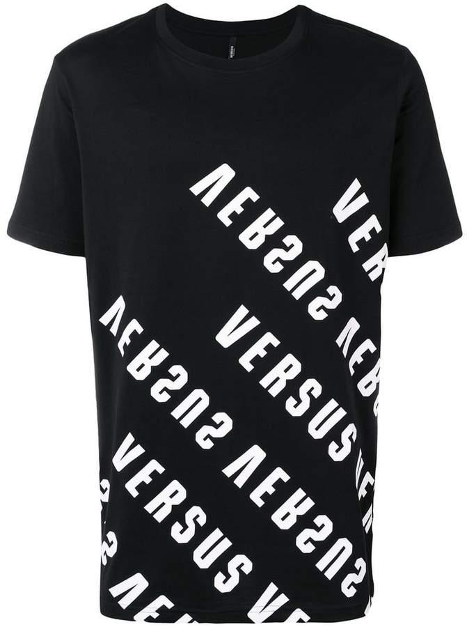Versus logo printed short sleeve T-shirt