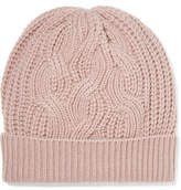 Johnstons of Elgin Cable-knit Cashmere Beanie