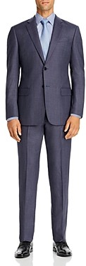 Giorgio Armani Emporio Birdseye Virgin Wool Regular Fit Suit