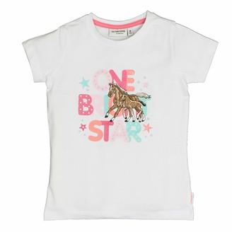 Salt&Pepper Salt and Pepper Girls' T-Shirt Horses Schrift Stick
