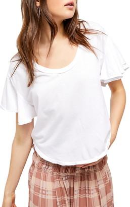 Free People Float On Flutter Sleeve T-Shirt