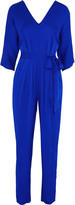 Milly Silk-blend jumpsuit