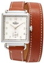 Shinola Women's Cass Leather Strap Watch, 28Mm