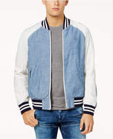 G Star Men's Colorblocked Baseball Jacket