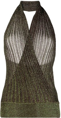 Missoni Halter-Neck Knitted Top