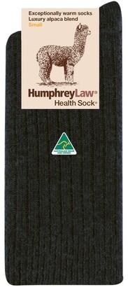 Humphrey Law Alpaca Health Sock Charcoal 3-8