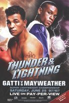 Victoria's Secret The Poster Corp Arturo Gatti Floyd Mayweather Movie Poster (11 x 17)