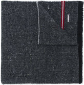 Bally striped detail scarf - women - Cashmere/Wool/Virgin Wool - One Size