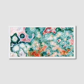 west elm Framed Print - Multi Geode