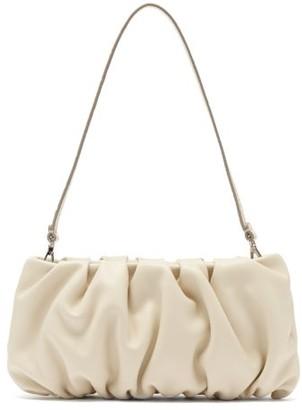 STAUD Bean Leather Shoulder Bag - Cream