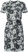 Paule Ka floral tweed dress
