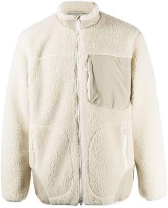 Descente Shearling Bomber Jacket