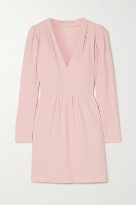Stella McCartney Net Sustain Stretch-cady Mini Dress - Pink