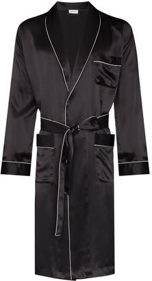 Zimmerli Tied Waist Silk Robe