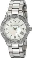 Stuhrling Original Women's 887.01 Vogue Iris Analog Display Swiss Quartz Watch