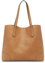 Sole Society Rome Vegan Leather Studded Tote
