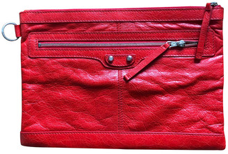Balenciaga Red Leather Small bags, wallets & cases