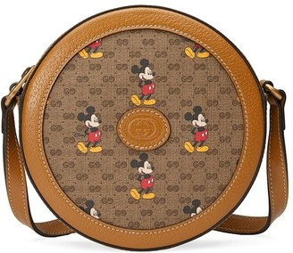 Gucci x Disney Mickey Mouse-print shoulder bag