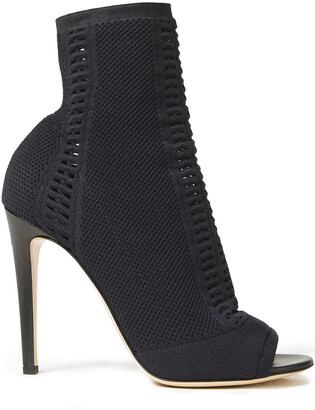 Gianvito Rossi Open-knit Sock Boots
