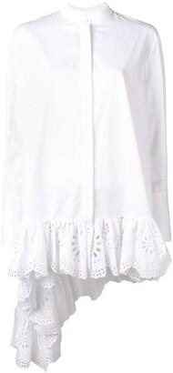 Alexander McQueen Lace-Detailed Shirt