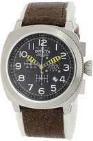 Invicta Men's 12313 Aviator Analog Display Swiss Quartz Brown Watch