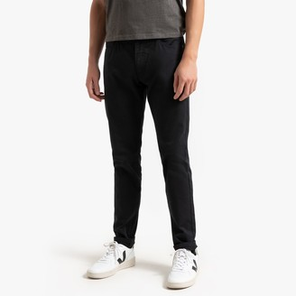 """La Redoute Collections Slim 5 Pocket Trousers, Length 32"""""""