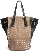 Dune Dilka Tote Bag with Gold Studs