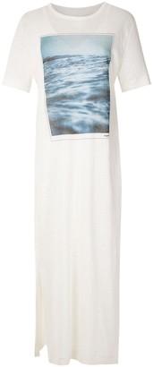 OSKLEN Twilight print T-shirt dress