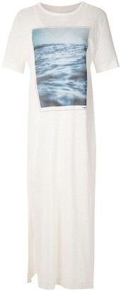 OSKLEN Twilight print T-shirt dress