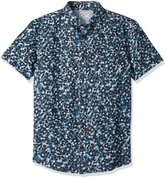 Quiksilver Men's Short Sleeve Print Shirt