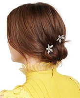 Jennifer Behr Petite Orchid Bobby Pin Two-Piece Set