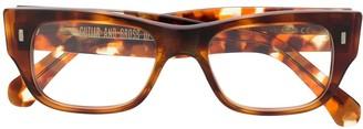 Cutler & Gross Rectangular Frame Sunglasses
