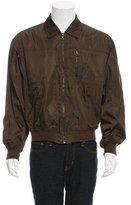 Prada Zip-Front Windbreaker Jacket