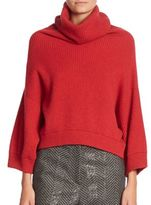 Brunello Cucinelli Cashmere Ribbed Turtleneck Sweater