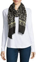 Fraas Oblong Paisley Scarf