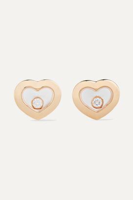 Chopard Net Sustain Happy Diamonds 18-karat Gold Diamond Earrings