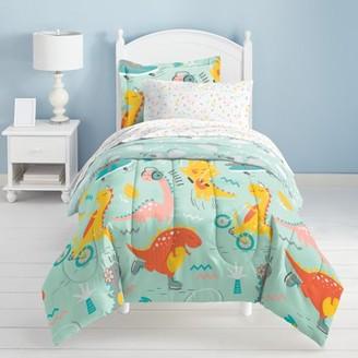 Dream Factory Dino Time 5-7 Piece Comforter Set