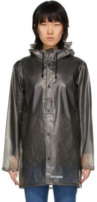 Stutterheim Grey Transparent Raincoat
