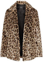 Theory Clairene Leopard-print Faux Fur Jacket - Leopard print