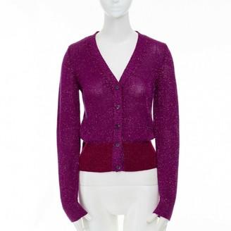 Miu Miu Purple Wool Knitwear