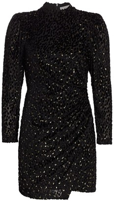 A.L.C. Jane Velvet Mini Dress