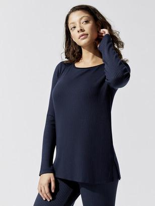 Stateside 5x3 Rib Jersey Edge Neck Long Sleeve Shirt