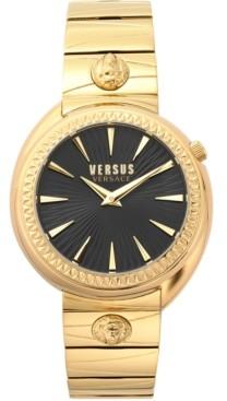 Versus By Versace Women's Tortona Gold-Tone Stainless Steel Bracelet Watch 38mm