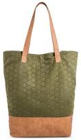 Merona Women's Tote Handbag Green