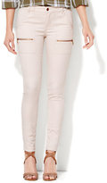 New York & Co. Soho Jeans - Cargo-Pocket SuperStretch Legging - Sand