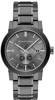 Burberry Check-Stamped Stainless Steel Watch