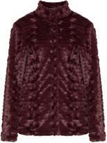 Junarose Plus Size Faux fur jacket