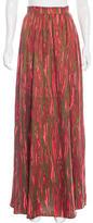 Rachel Zoe Silk Zebra Print Skirt w/ Tags