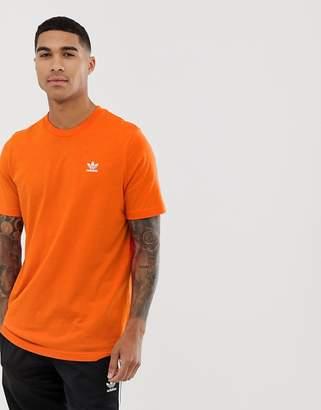 adidas essentials t-shirt in orange