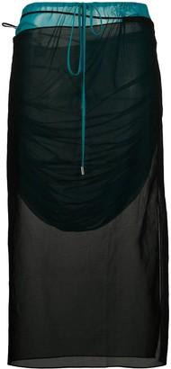 Supriya Lele Drawstring Wrap Skirt